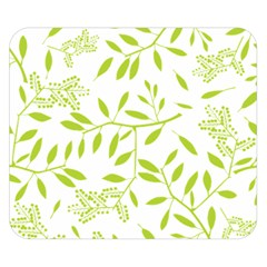 Leaves Pattern Seamless Double Sided Flano Blanket (small)