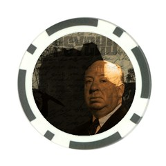 Alfred Hitchcock   Psycho  Poker Chip Card Guard (10 Pack) by Valentinaart