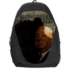 Alfred Hitchcock   Psycho  Backpack Bag by Valentinaart