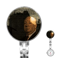Alfred Hitchcock   Psycho  Stainless Steel Nurses Watch by Valentinaart