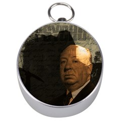Alfred Hitchcock   Psycho  Silver Compasses by Valentinaart