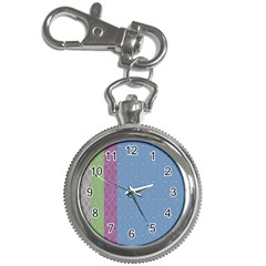 Fine Line Pattern Background Vector Key Chain Watches by Simbadda