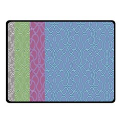 Fine Line Pattern Background Vector Fleece Blanket (small) by Simbadda