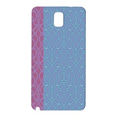Fine Line Pattern Background Vector Samsung Galaxy Note 3 N9005 Hardshell Back Case by Simbadda