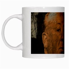 Alfred Hitchcock   Psycho  White Mugs by Valentinaart