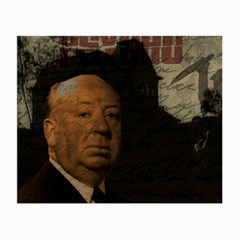 Alfred Hitchcock   Psycho  Small Glasses Cloth by Valentinaart