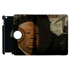 Alfred Hitchcock   Psycho  Apple Ipad 2 Flip 360 Case by Valentinaart