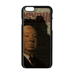Alfred Hitchcock   Psycho  Apple Iphone 6/6s Black Enamel Case