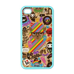 Background Images Colorful Bright Apple Iphone 4 Case (color)