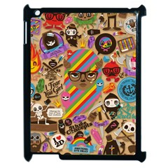 Background Images Colorful Bright Apple Ipad 2 Case (black) by Simbadda