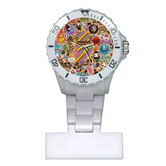 Background Images Colorful Bright Plastic Nurses Watch