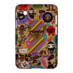 Background Images Colorful Bright Samsung Galaxy Tab 2 (7 ) P3100 Hardshell Case