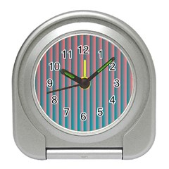 Hald Simulate Tritanope Color Vision With Color Lookup Tables Travel Alarm Clocks by Simbadda