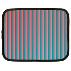 Hald Simulate Tritanope Color Vision With Color Lookup Tables Netbook Case (large) by Simbadda