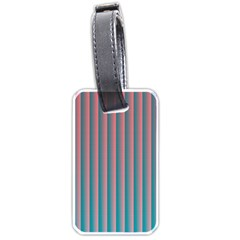 Hald Simulate Tritanope Color Vision With Color Lookup Tables Luggage Tags (one Side)  by Simbadda