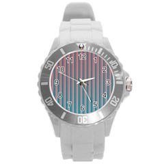 Hald Simulate Tritanope Color Vision With Color Lookup Tables Round Plastic Sport Watch (l)
