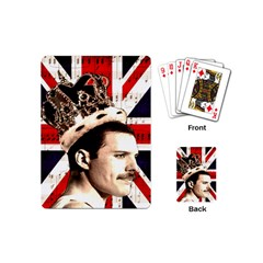 Freddie Mercury Playing Cards (mini)  by Valentinaart