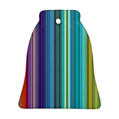 Color Stripes Ornament (bell) by Simbadda