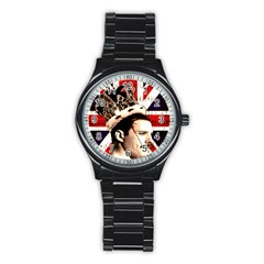 Freddie Mercury Stainless Steel Round Watch by Valentinaart