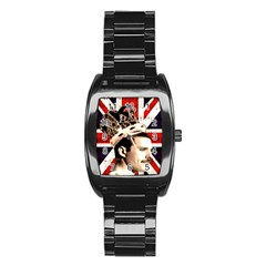 Freddie Mercury Stainless Steel Barrel Watch by Valentinaart