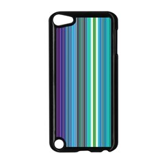 Color Stripes Apple Ipod Touch 5 Case (black) by Simbadda