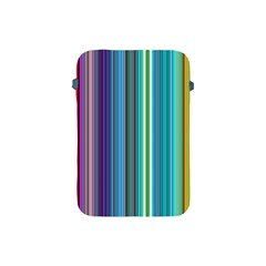 Color Stripes Apple Ipad Mini Protective Soft Cases by Simbadda