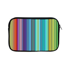 Color Stripes Apple Ipad Mini Zipper Cases