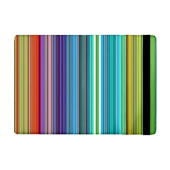 Color Stripes Ipad Mini 2 Flip Cases by Simbadda