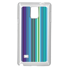 Color Stripes Samsung Galaxy Note 4 Case (white) by Simbadda
