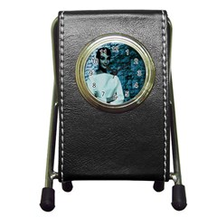 Audrey Hepburn Pen Holder Desk Clocks
