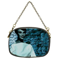 Audrey Hepburn Chain Purses (two Sides)  by Valentinaart