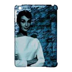 Audrey Hepburn Apple Ipad Mini Hardshell Case (compatible With Smart Cover) by Valentinaart