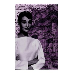 Audrey Hepburn Shower Curtain 48  X 72  (small)  by Valentinaart
