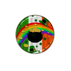 Pot Of Gold Hat Clip Ball Marker (10 Pack) by Valentinaart