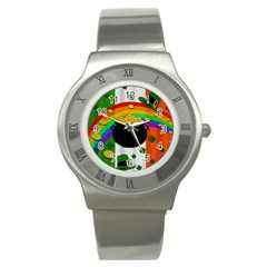 Pot Of Gold Stainless Steel Watch by Valentinaart