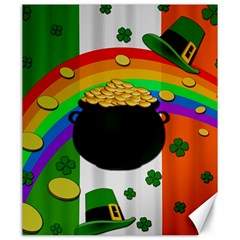 Pot Of Gold Canvas 20  X 24   by Valentinaart