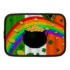 Pot Of Gold Netbook Case (medium)  by Valentinaart