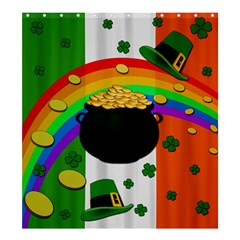 Pot Of Gold Shower Curtain 66  X 72  (large)  by Valentinaart