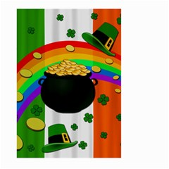 Pot Of Gold Large Garden Flag (two Sides) by Valentinaart