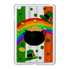 Pot Of Gold Apple Ipad Mini Case (white) by Valentinaart