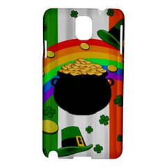 Pot Of Gold Samsung Galaxy Note 3 N9005 Hardshell Case by Valentinaart