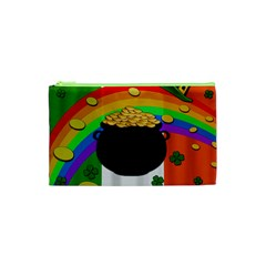 Pot Of Gold Cosmetic Bag (xs) by Valentinaart