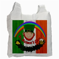St  Patricks Day  Recycle Bag (two Side)