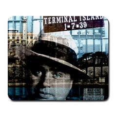 Al Capone  Large Mousepads by Valentinaart