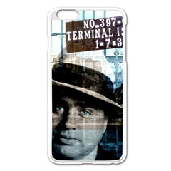 Al Capone  Apple Iphone 6 Plus/6s Plus Enamel White Case by Valentinaart