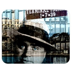 Al Capone  Double Sided Flano Blanket (medium)  by Valentinaart