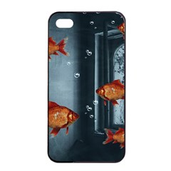 Natural Habitat Apple Iphone 4/4s Seamless Case (black) by Valentinaart