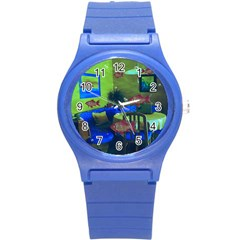 Natural Habitat Round Plastic Sport Watch (s) by Valentinaart