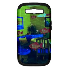 Natural Habitat Samsung Galaxy S Iii Hardshell Case (pc+silicone) by Valentinaart