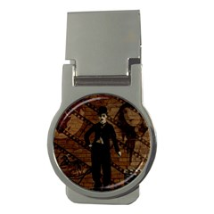 Charlie Chaplin  Money Clips (round)  by Valentinaart